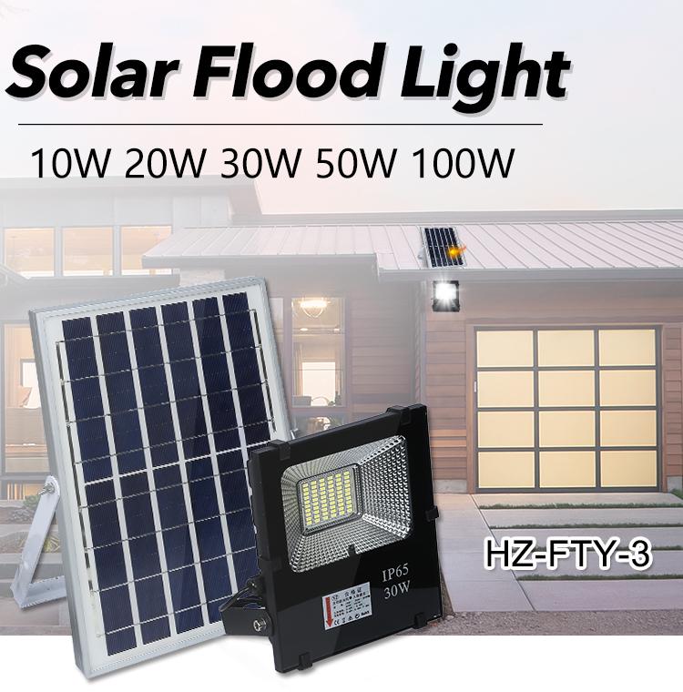高品質 ip65 防水 Bridgelux smd 10 ワット 20 ワット 30 ワット 50 ワット 100 ワットソーラー led フラッドライト
