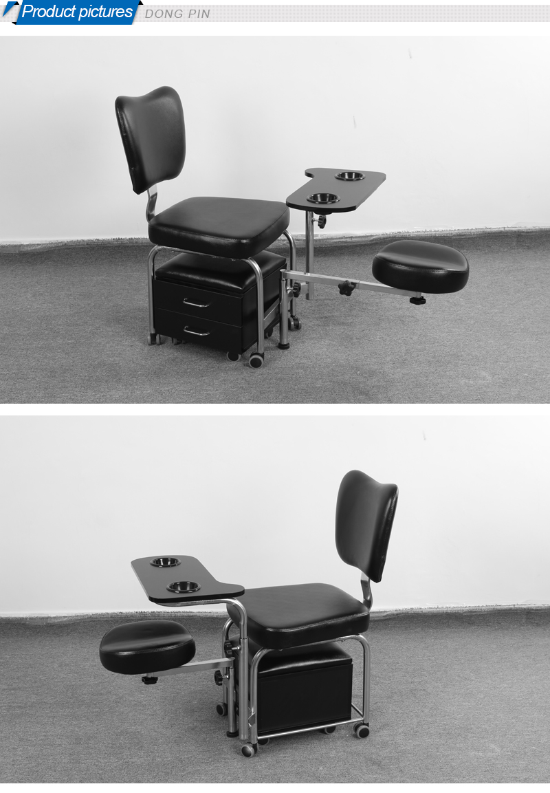 Pedicure spa chair for sale buy spa chair used pedicure for Mobile nail technician table