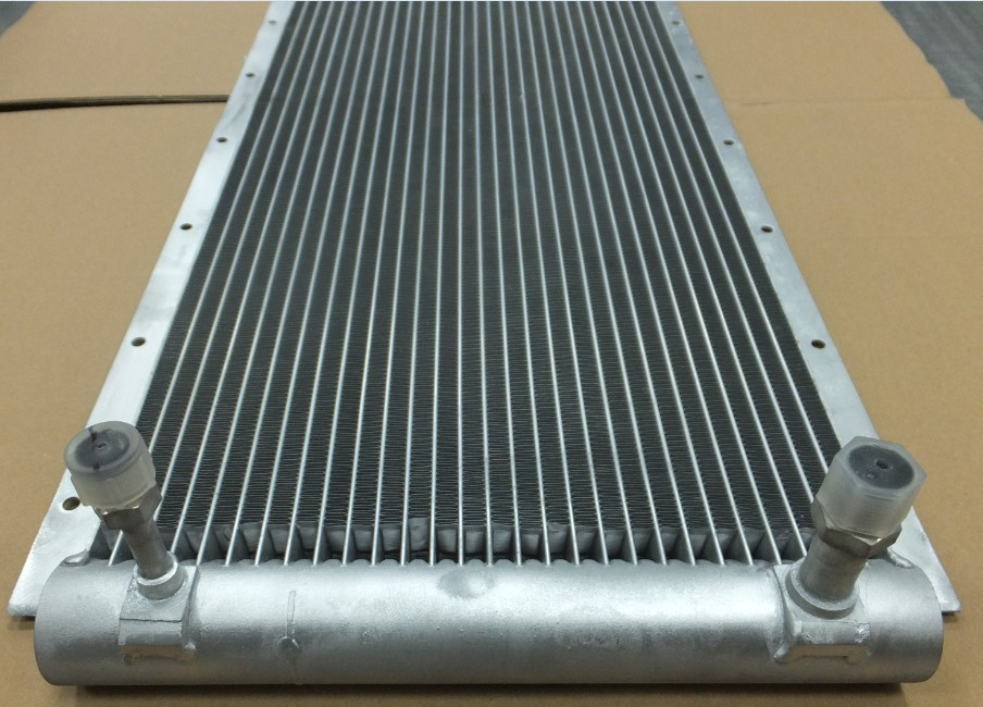 Auto Fin Tube Microchannel Radiator For Car Air