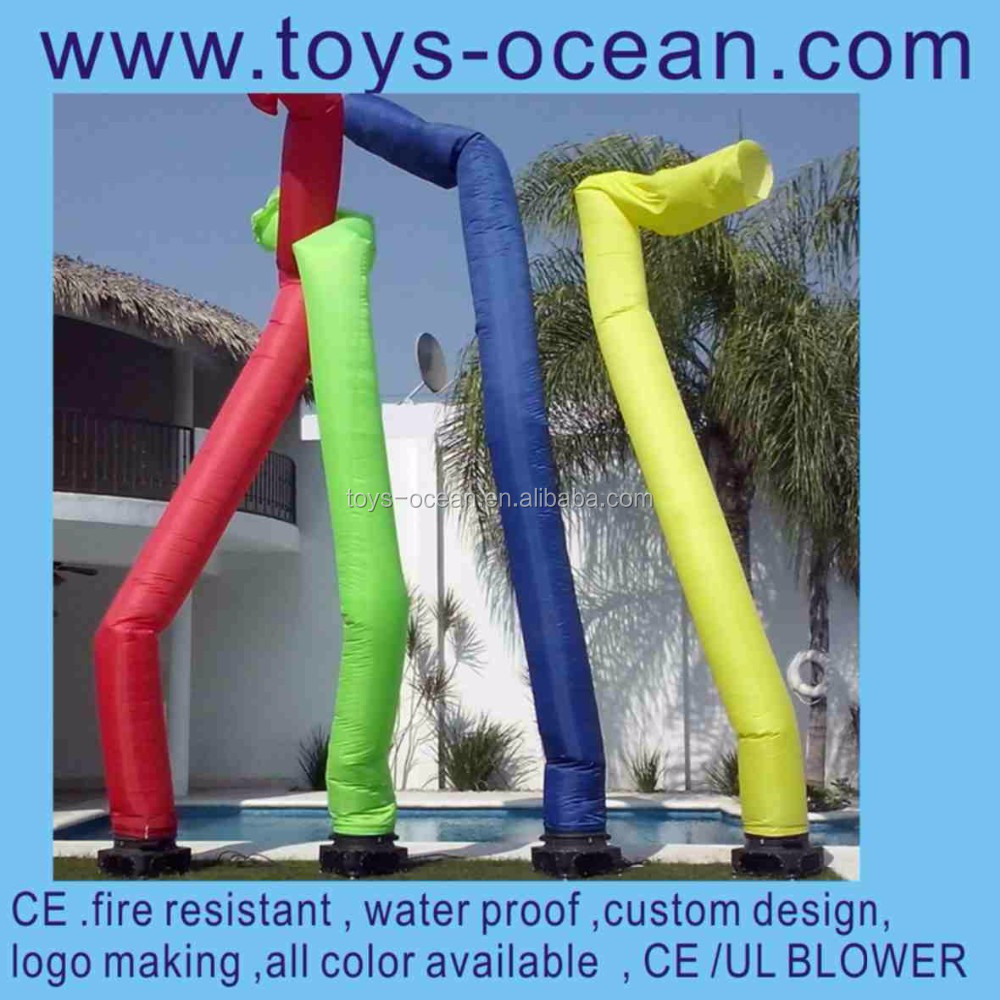 inflatable sky dancer tubes, advertising inflatable air dancer tube man,inflatable tube dancer