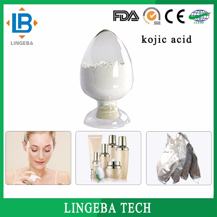 Wholesale High Quality Herbal Extract/Grape Seed/Chemical Health Cosmetic Material Kojic Acid