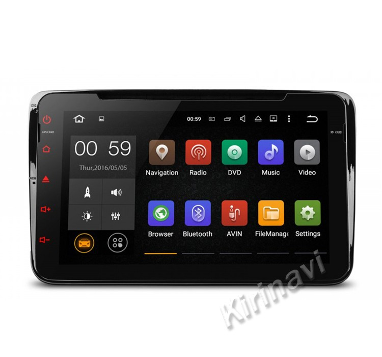"Kirinavi WC-VU8001 8 ""android 5.1 8"" full touch screen lettore dvd per vw android con gps WIFI 3G Bluetooth OBDII"