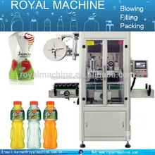 2016 new design shrink sleeve labeling machine