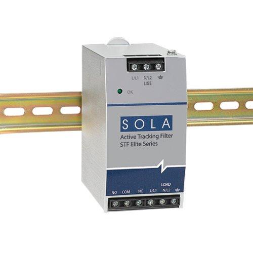 Sola/Hevi-Duty STFE100-10N Surge Protector, Din Rail, Filter, 1P, 30 kA