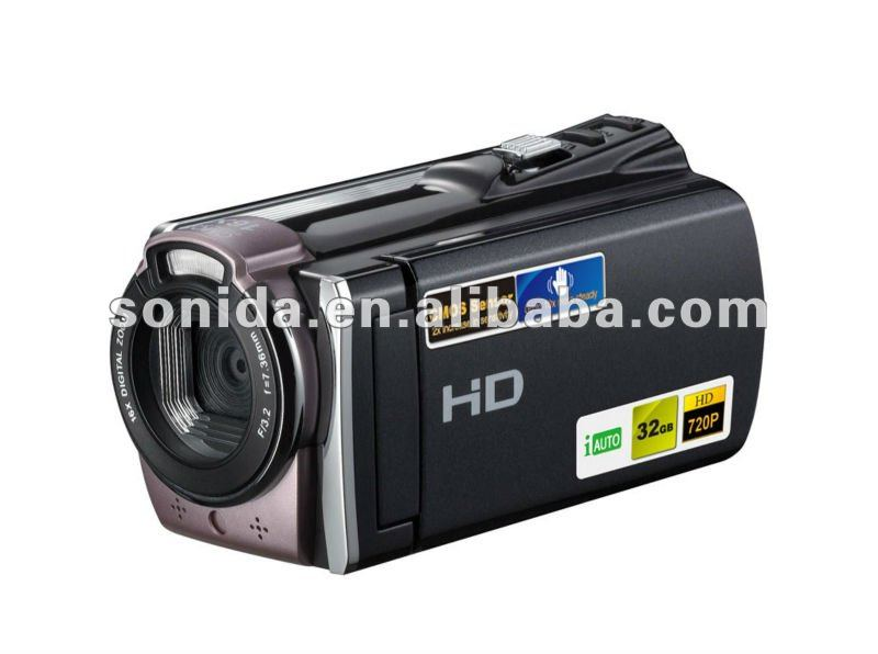 tv out web use digital video camera camcorder 16 digital zoom up to 16.0MP 3.0-inch rotation screen 1080P full 602s