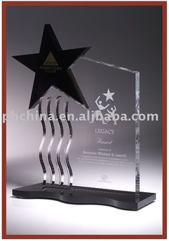 New And Modern Design Acrylic Trophyaward