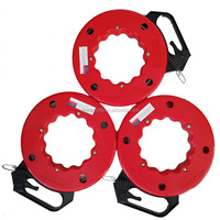 30m 45m 60m 100m steel electric puller tools metal cable wire roplle puller automatic fish tape