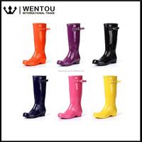 Wholesale Ladies Rubber Monogram Rain Boots