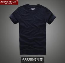 Verano hombres de moda famous brand design camisetas holístico abercr para ombie hombre t-shirt casual fitch manga tees