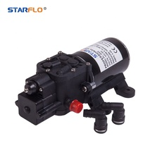 Starflo FL-3203 100PSI Mini High Flow High Pressure Elektrische Membraanpomp Agrarische 12 V 24 V Dc <span class=keywords><strong>Waterpomp</strong></span>