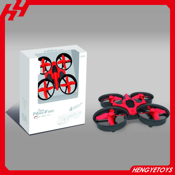 Hot sell mini drone 2.4G 6ch 6 axis 360 flips headless mode nano quadcopter JJRC H36 drone
