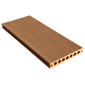 China fireproof wpc outdoor portable composite decking