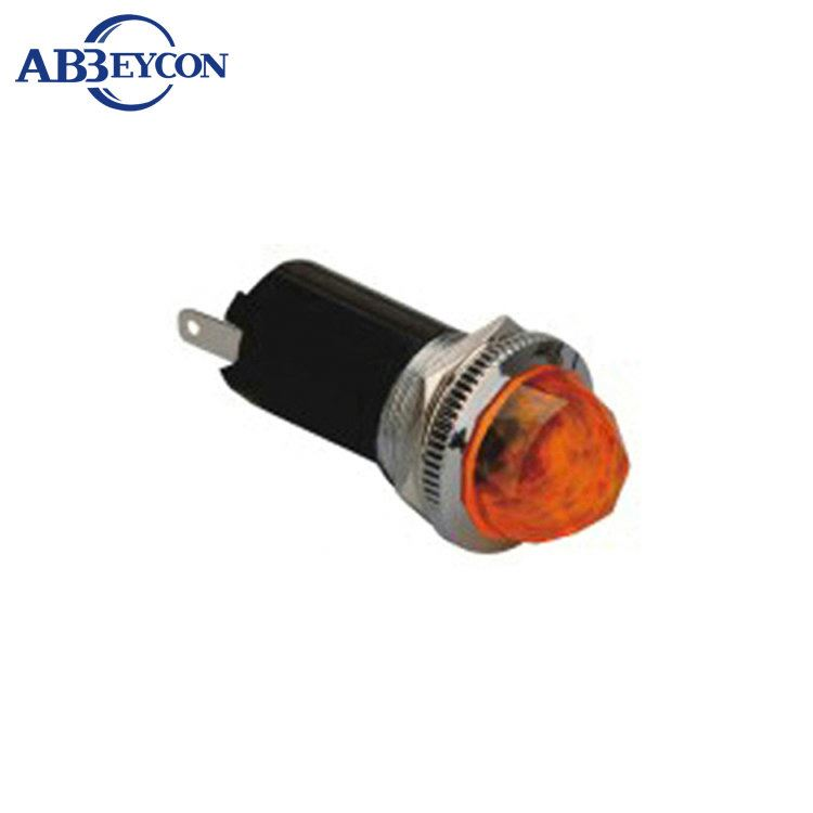 ZS53 high quality 6v 12v 24v 28v 16mm indicator light with CE RHOS pilot light 16mm