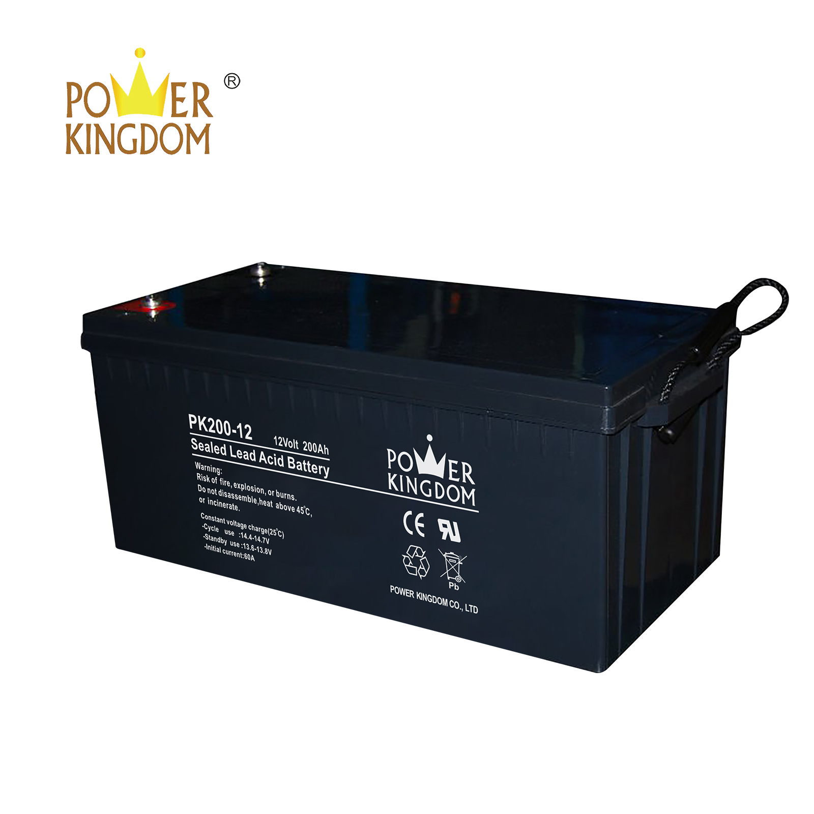 Power Kingdom testing agm deep cycle batteries Supply