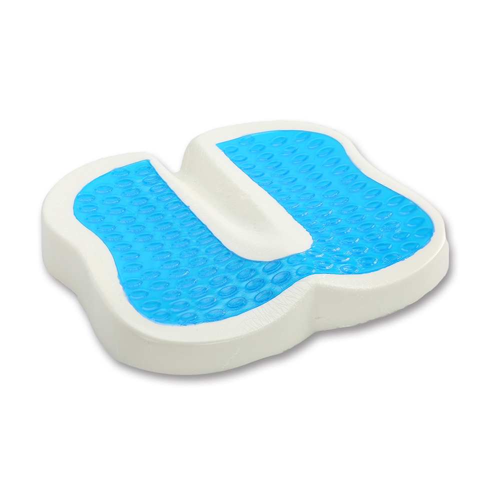 Therapeutic Promote Recovering Chair Foam Seat Support Cushion Comfort Cooling Coccyx Gel Adult Car Seat Cushion With Cool Pad