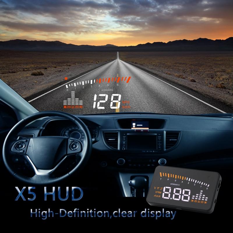 Walmart Best Selling Accessories car Universal 3 5'' X5 Hud Head Up Display  Car Vehicle Speed Limiter - Buy Hud,Hud Head Up Display,Hud Head Up