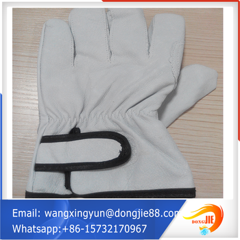 More Popular Pallet Packing Leather Welding Gloves/high Quality ...