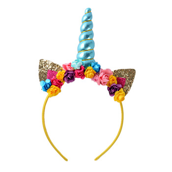 pghd0810 festival kids girls halloween costume unicorn headband