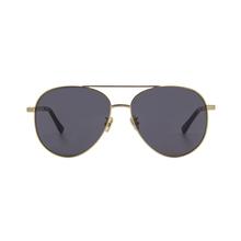 4a0708458 Alta qualidade estilo Retro quadros lente Polarizada Dupla Ponte óculos de  sol