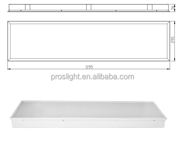 36w Smd2835 Led Light Panel 2x2 For Ceiling Light