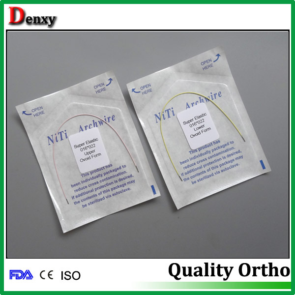 Dental Supplier Of Niti Arch Wire Thermal Activate / Super Elastic ...