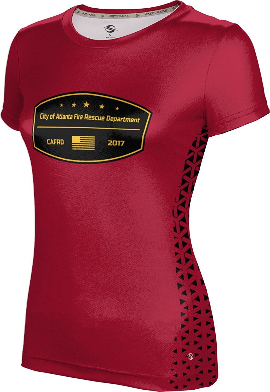 ProSphere Girls' City Of Atlanta Fire Rescue Department Fire Department Geometric Shirt