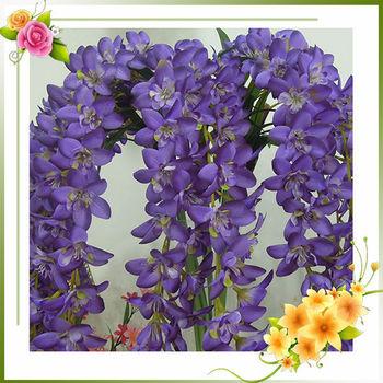Giant violet cymbidium orchid silk flower buy cymbidium orchid giant violet cymbidium orchid silk flower mightylinksfo