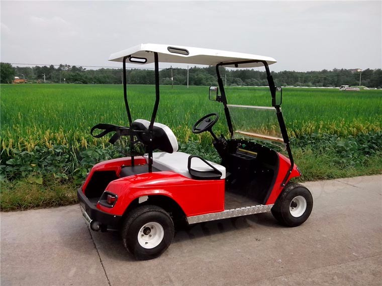 Two seats electric power cheap china golf cart for sale for Motorized carts for sale