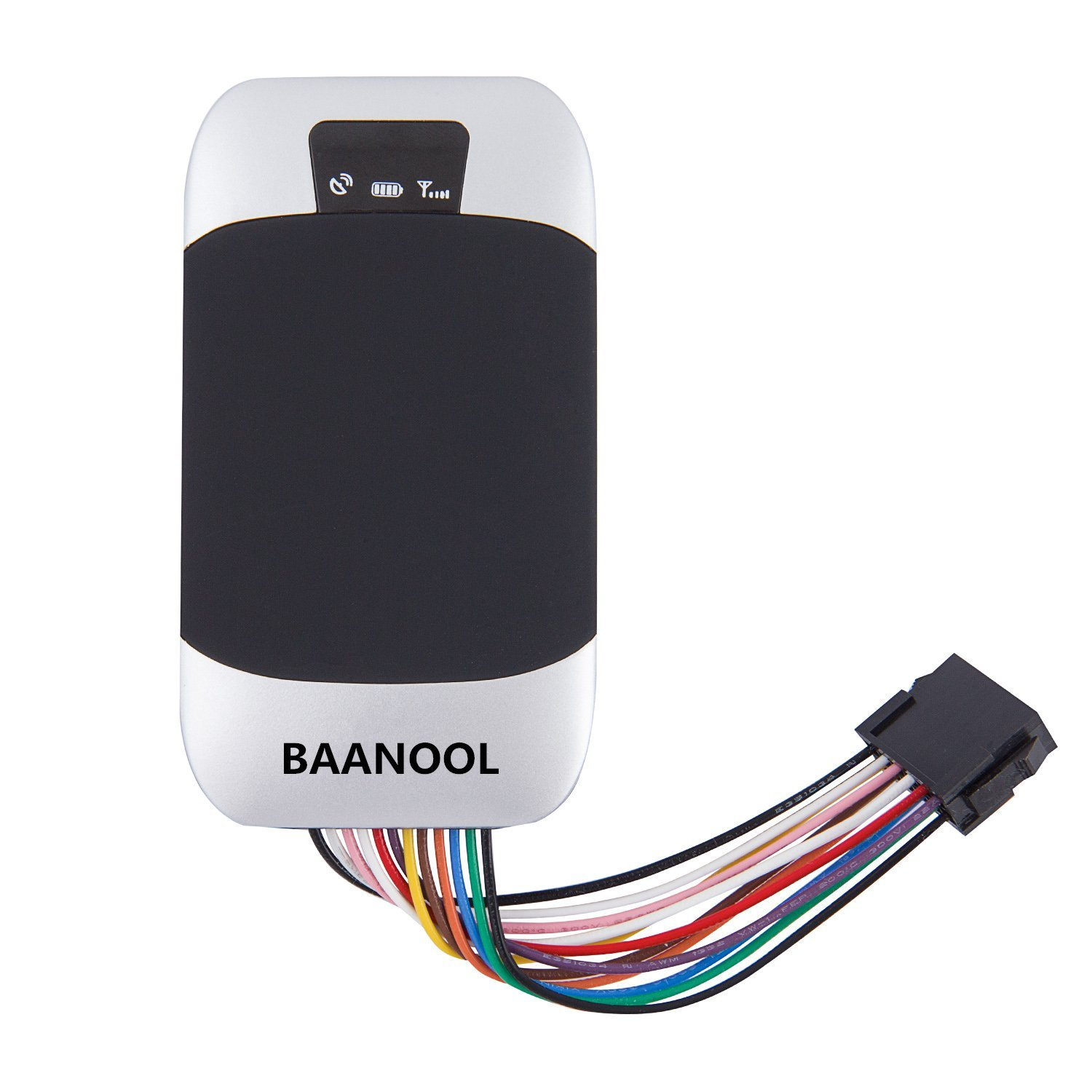 BAANOOL Waterproof Real Time Car GPS Tracker GPS/GPRS/GSM Vehicle Tracker GPS Locator Portable GPS Tracking Devices Anti-Theft Car Tracking Alarm System 303F