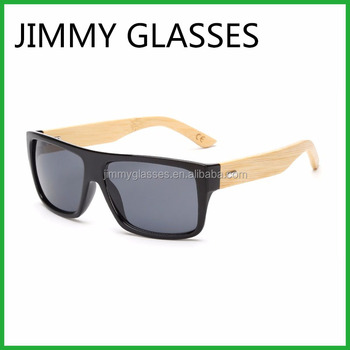 45cbfec09b Cheap Recycled Plastic Party Sunglasses UV400 Reflective Bamboo Sunglasses