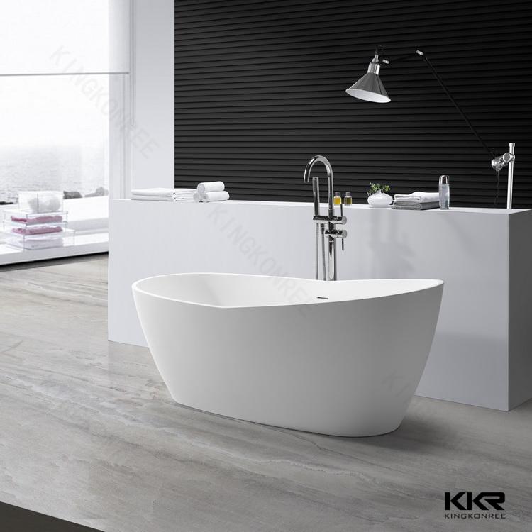 Europese ontwerp steen vrijstaande standaard bad maten for Standard size of freestanding bathtub