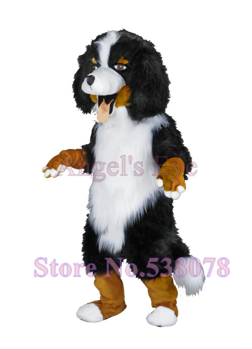 Realistic Bernese Mountain Dog Mascot Costume Adult Size ... - photo#5