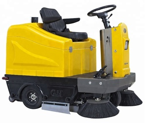 manual sweeping truck floor machine Airport excellent quality road sweeper