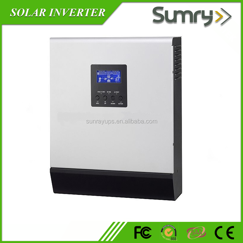 high frequency hybrid 5kw solar inverter 48vdc 24vdc with MPPT or PWM solar controller