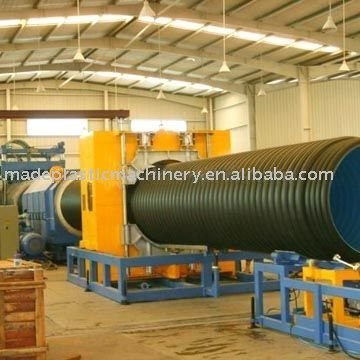 Single corrugated Plastic Pipe Production/Extrusion Line