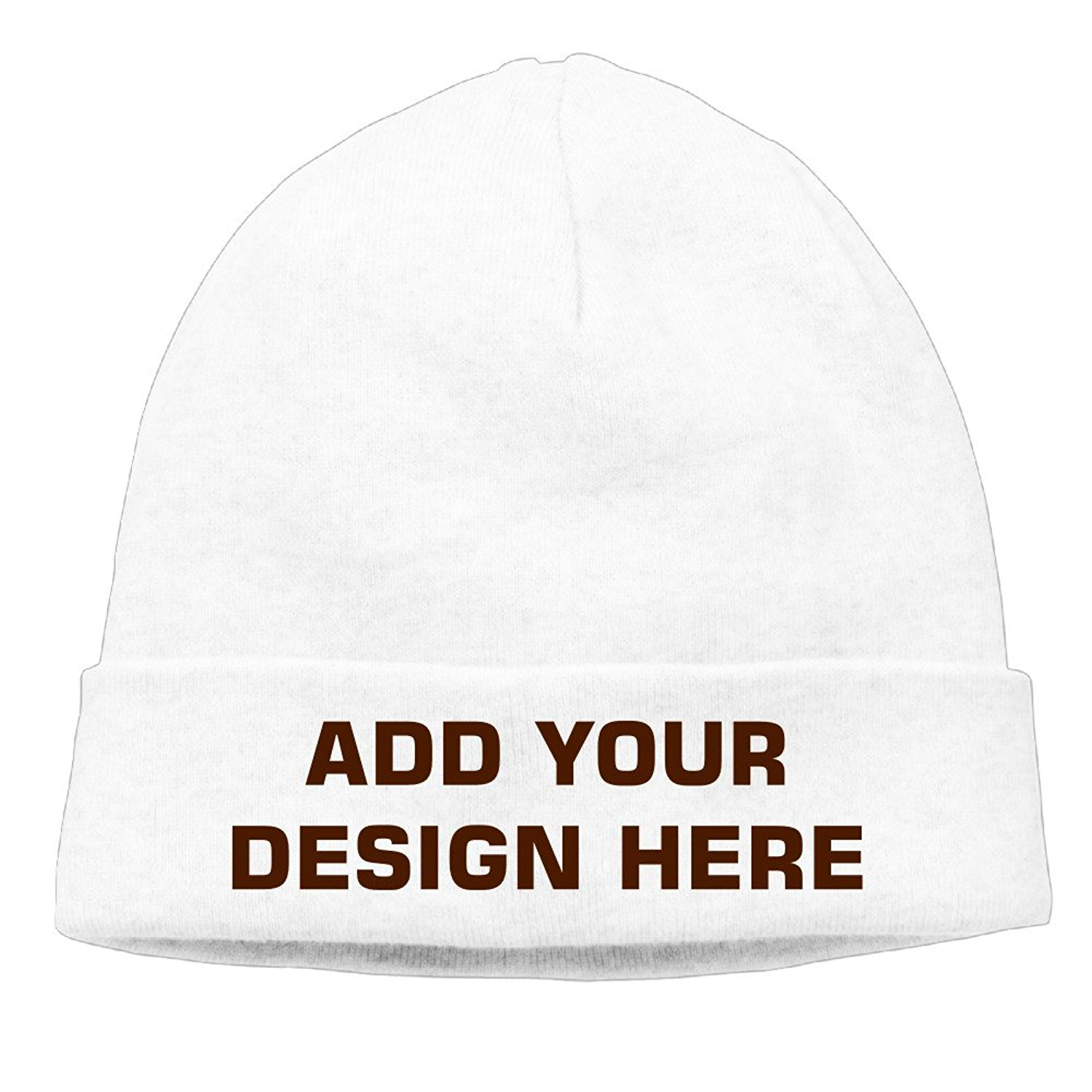 f03207c1fc7 Get Quotations · Customize Your Own Designed Beanie Ski Hat Vintage  Collectible Toboggan Wool Hat