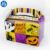 2019 Custom Wholesale Square Art Paper Cardboard Cake Box With Handle