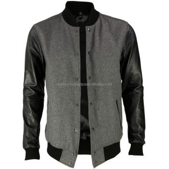 Wholesale Cheap Custom Made Plain Baseball Jackets,Varsity Jacket ...