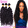 Unprocessed 5a grade virgin peruvian weaving 100% human hair water wave