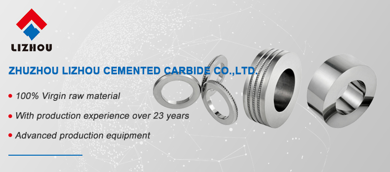 Durable Finished Cemented Carbide Roll Ring for Cold Rolling Ribbed Wire