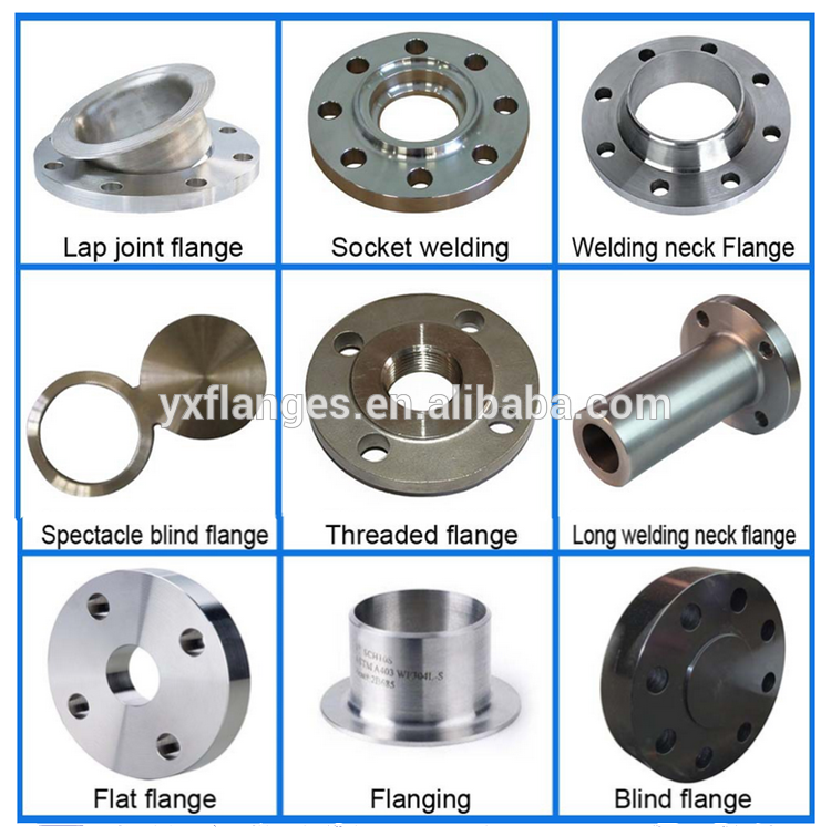 Din standard stainless steel pipe puddle flanges and