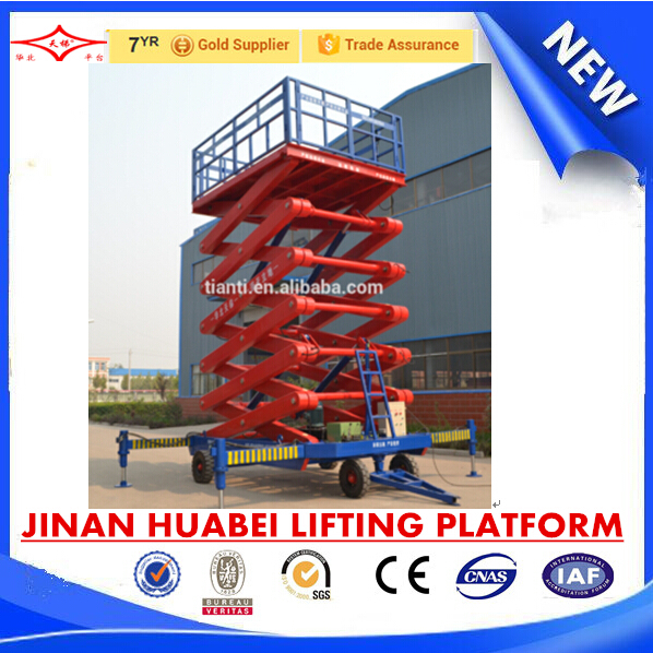 China Lighting Car Rotating Stage Lifter Reliable Hydraulic ...