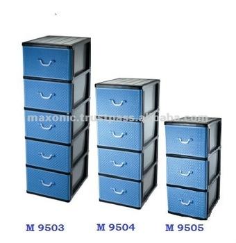 Plastic Storage Drawer 3 4 5 Layers