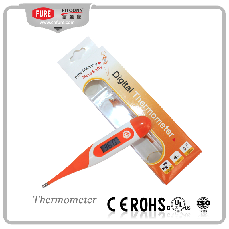 wholesale new product digital fast reading thermometer with flexible tip
