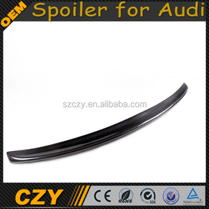 JC Sportline Carbon A4 Trunk Wing Spoiler for Audi B8 B9 09-13