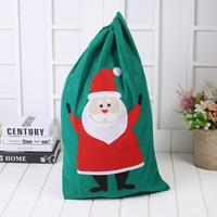 Wholesale personalized santa sack christmas stocking gift bag