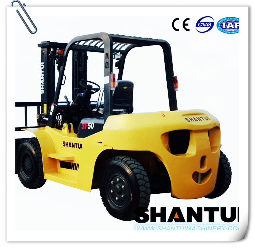 China CE diesel forklift truck