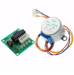 Smart Electronics 28BYJ-48 5V 4 Phase DC Gear Stepper Motor + ULN2003 Drive Test Module Board for kit diy electronic
