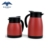 red color FDA grade Vacuum coffee pot with glass inner