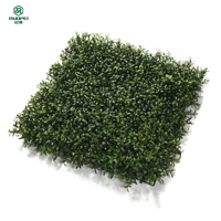 Wholesale Artificial plants boxwood hedge panels decorative outdoor vertical garden green wall